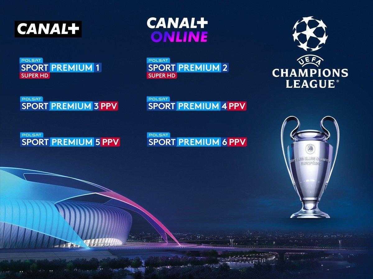 Kolejne sezony Ligi Mistrzów UEFA dostępne w ofercie CANAL+