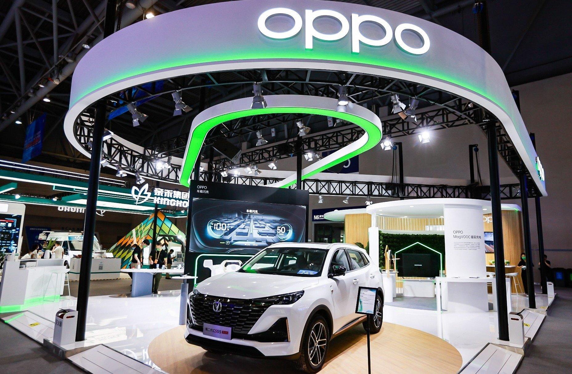 OPPO prezentuje serię urządzeń MagVOOC i technologie łączności samochodowej