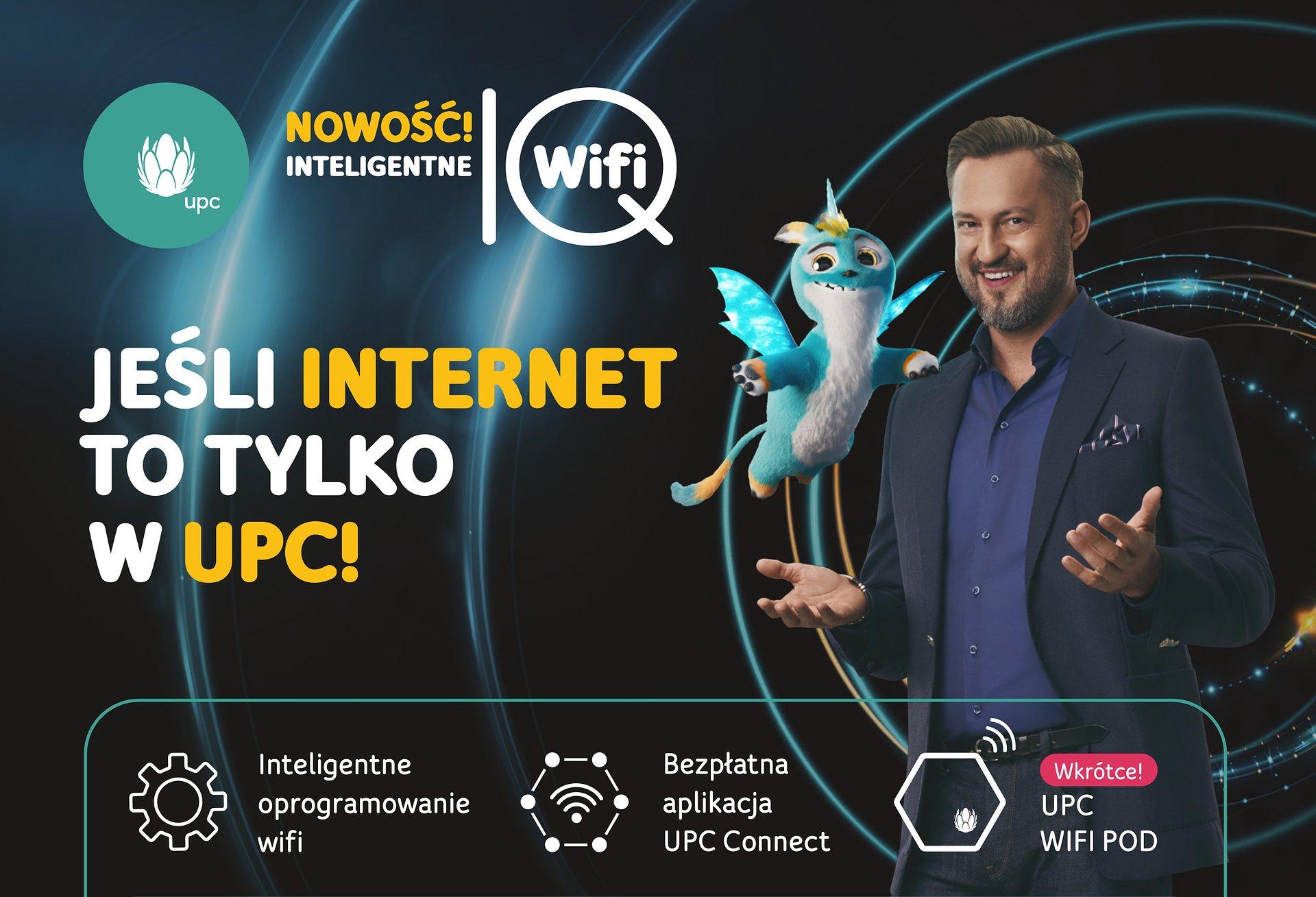 """UPC Polska, najszybszy i najczęściej rekomendowany operator ogólnopolski, wprowadza na rynek przełomową innowację """"Inteligentne WiFi"""", bez opłat dla ponad 850.000 klientów oraz serwis Viaplay w nowych pakietach"""