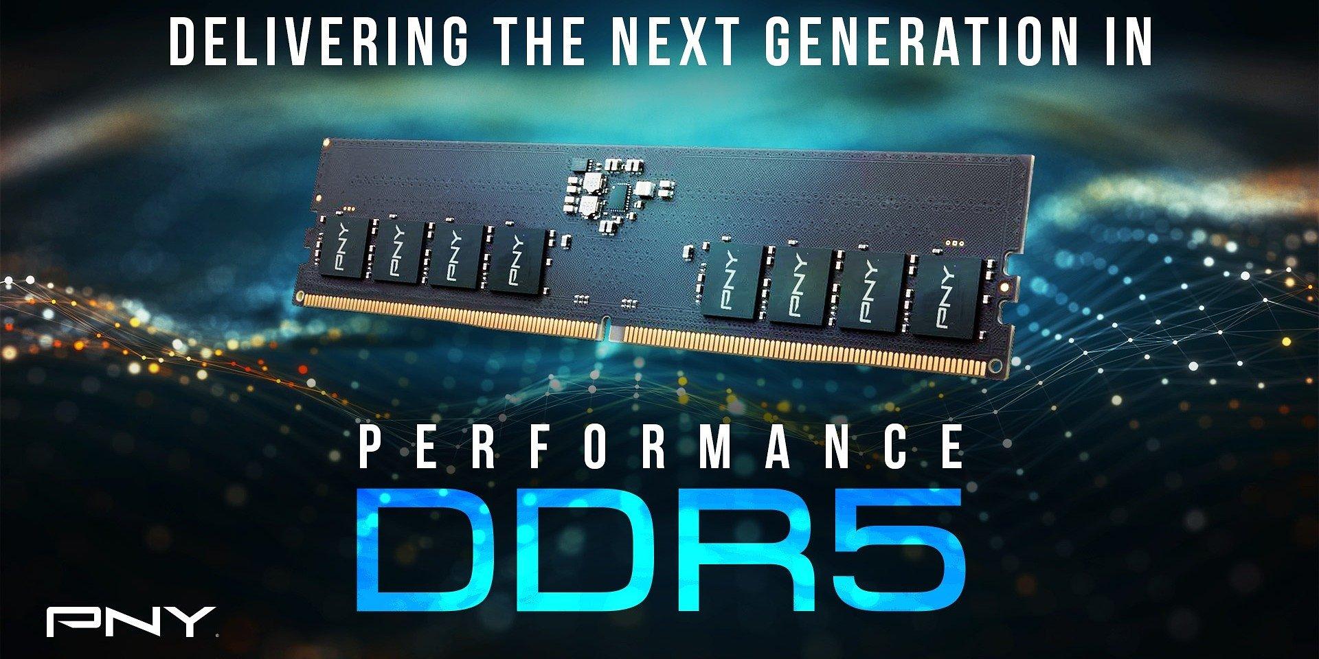 Новая линейка памяти от PNY Performance DDR5 4800MHz. Революционная производительность нового поколения