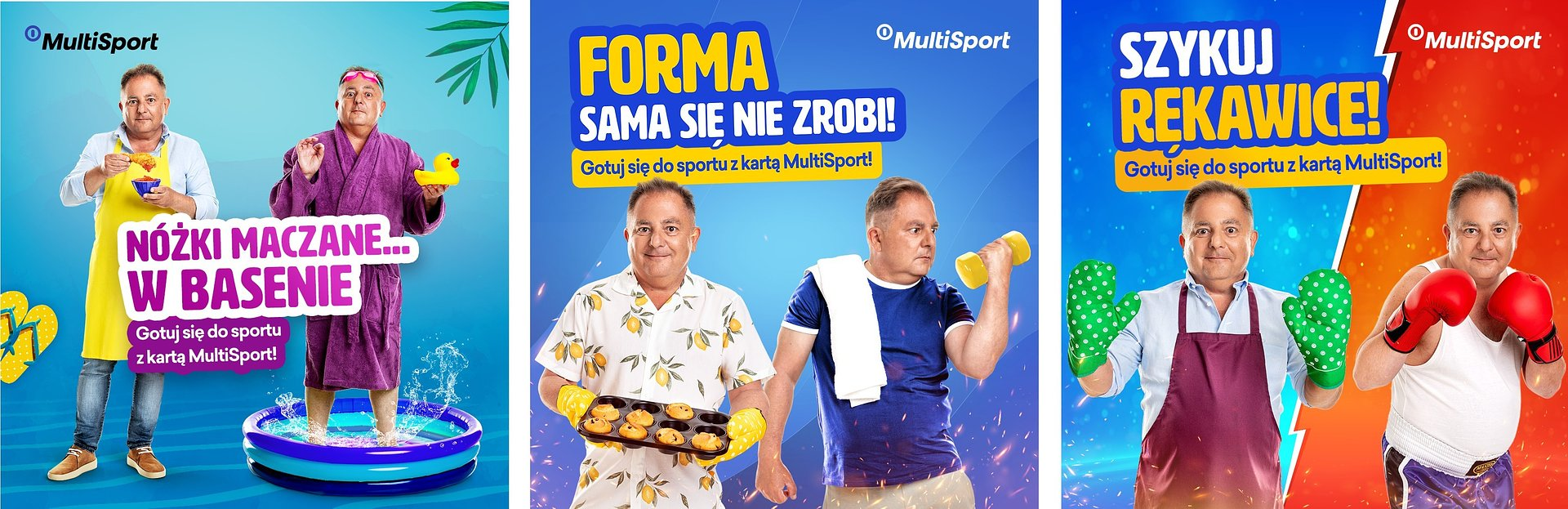 MultiSport contrastive campaign with Robert Makłowicz