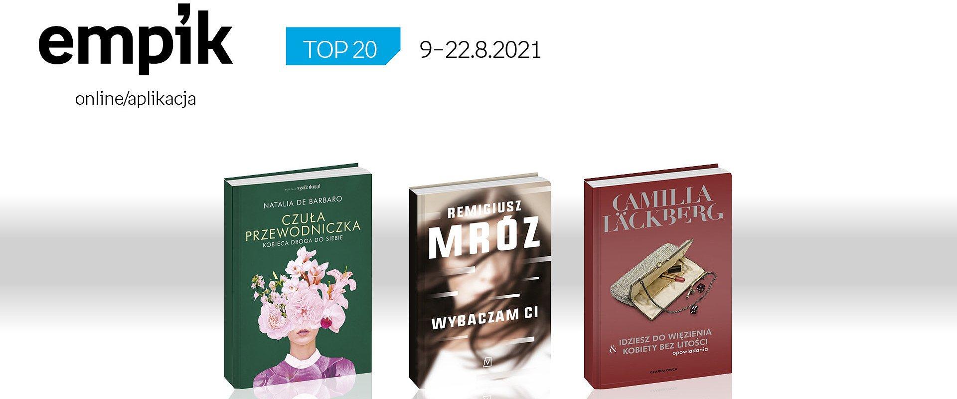 Książkowa lista TOP 20 na Empik.com za okres 9 – 22 sierpnia