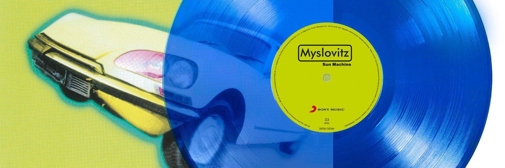 """Limitowana edycja albumu Myslovitz – """"Sun Machine"""" na niebieskim winylu!"""