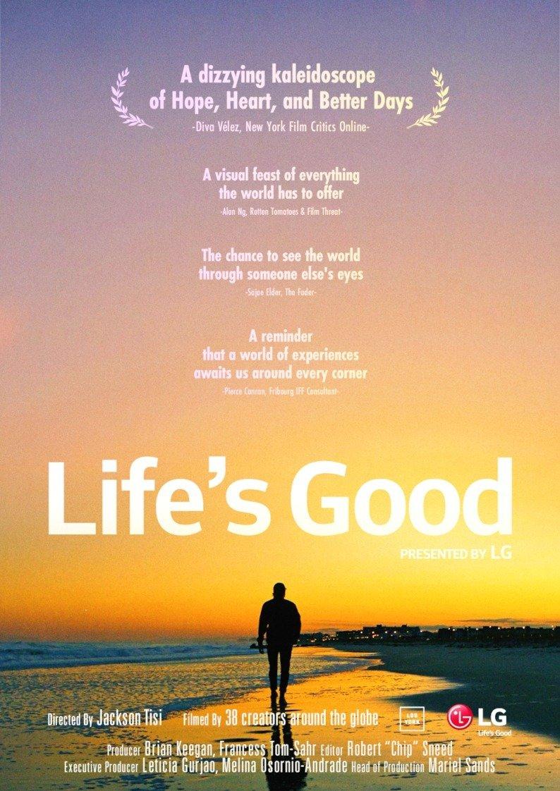 Life's Good Film Project – premiera filmu Jacksona Tisiego
