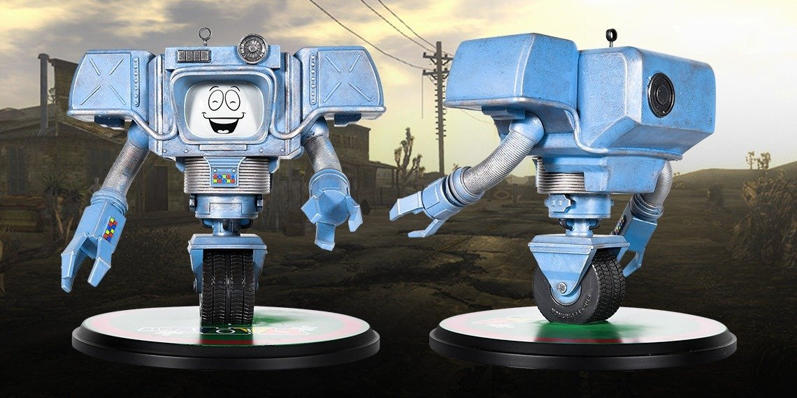 Fallout: New Vegas' Most Helpful Robot Is Now A Collectible at the Bethesda Gear Store