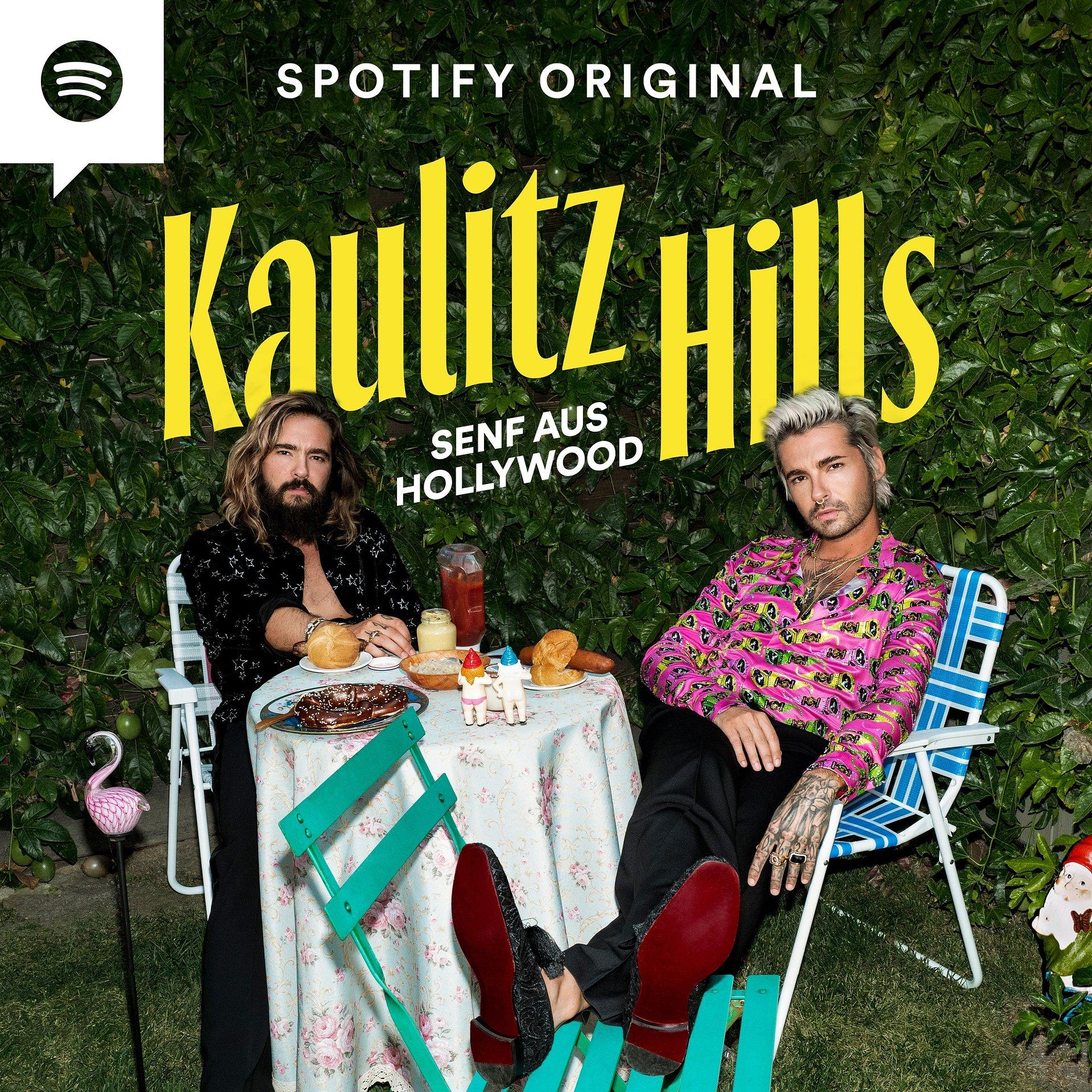 """Bill und Tom Kaulitz starten Spotify Original Podcast: """"Kaulitz Hills– Senf aus Hollywood"""""""
