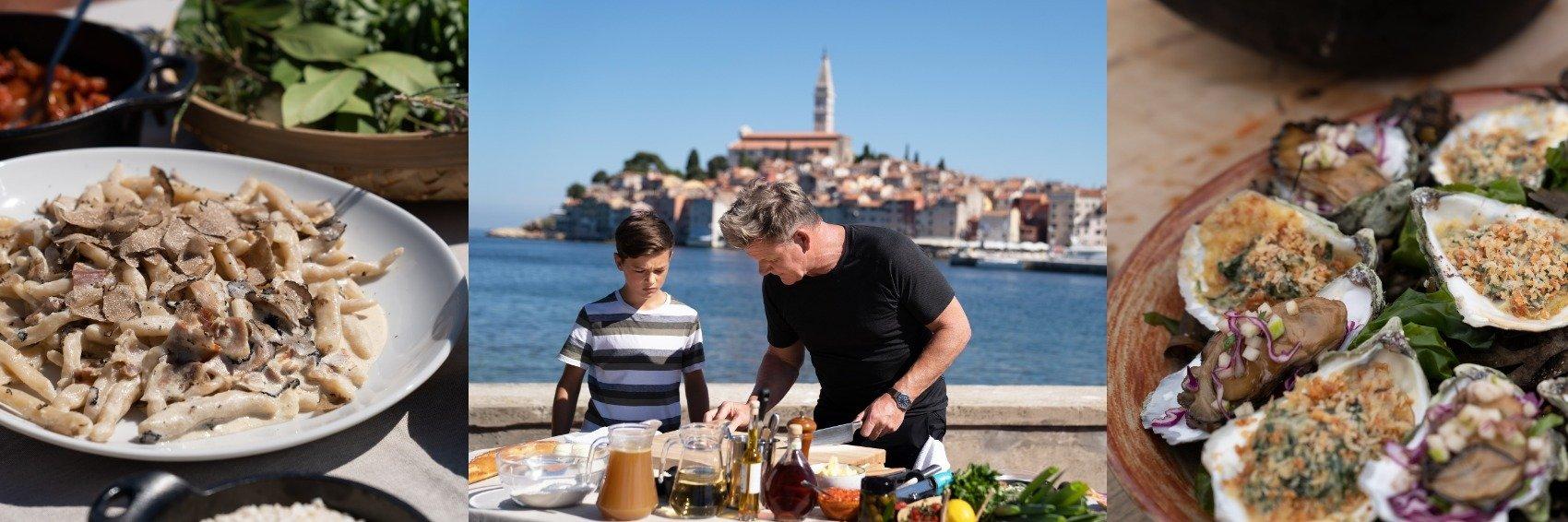 """Nowe receptury Gordona Ramsaya w 3. sezonie serii """"Gordon Ramsay: świat na talerzu"""" - premiera w National Geographic."""