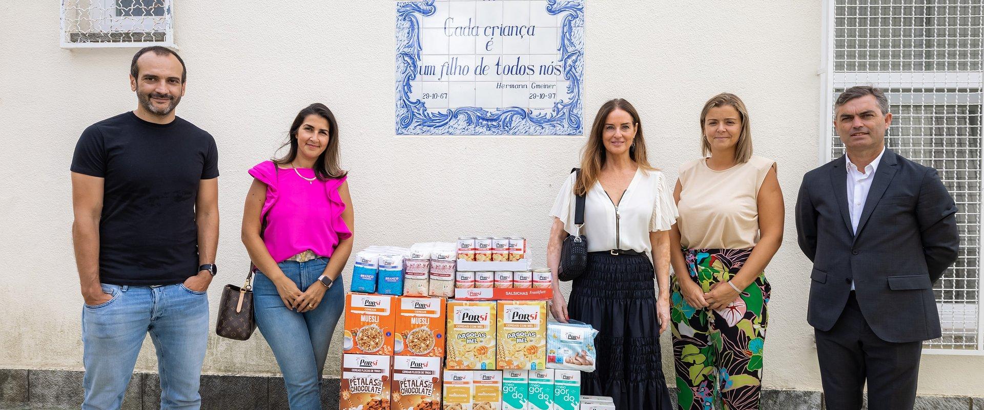 Corrida Solidária do Intermarché reverte em donativo de 3.750€ para as Aldeias de Crianças SOS