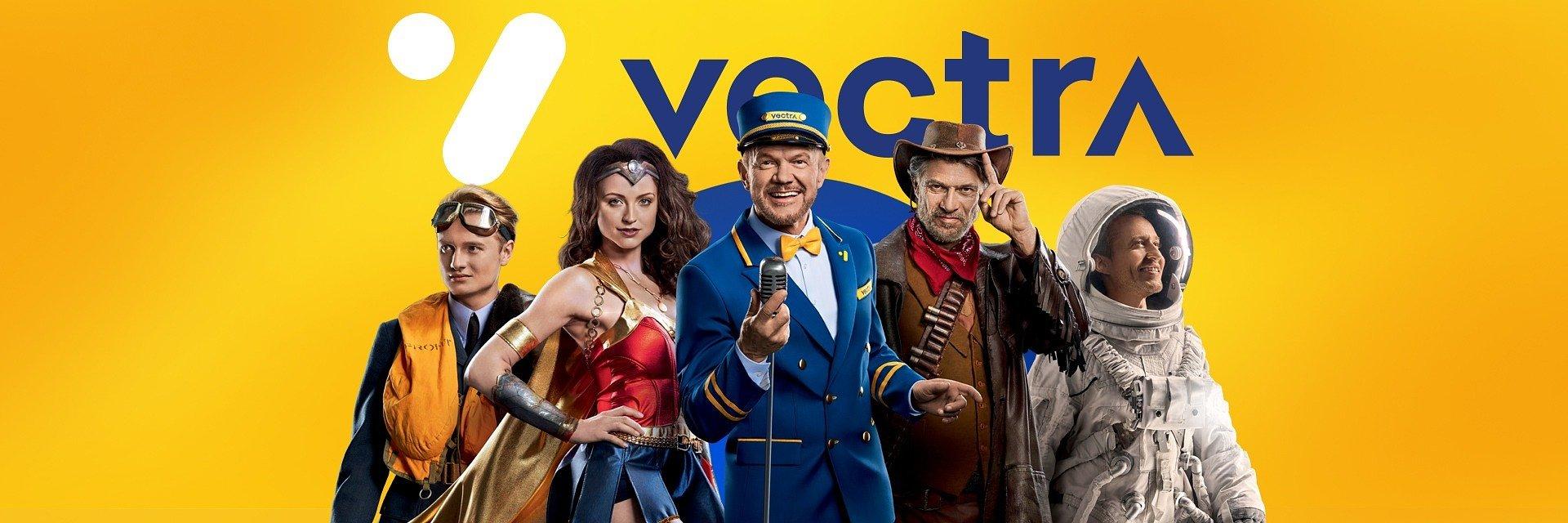 """Nowa kampania Vectry od Freundschaft The Digitals. Twoja rozrywka jest """"zawsze tam, gdzie Ty!"""""""