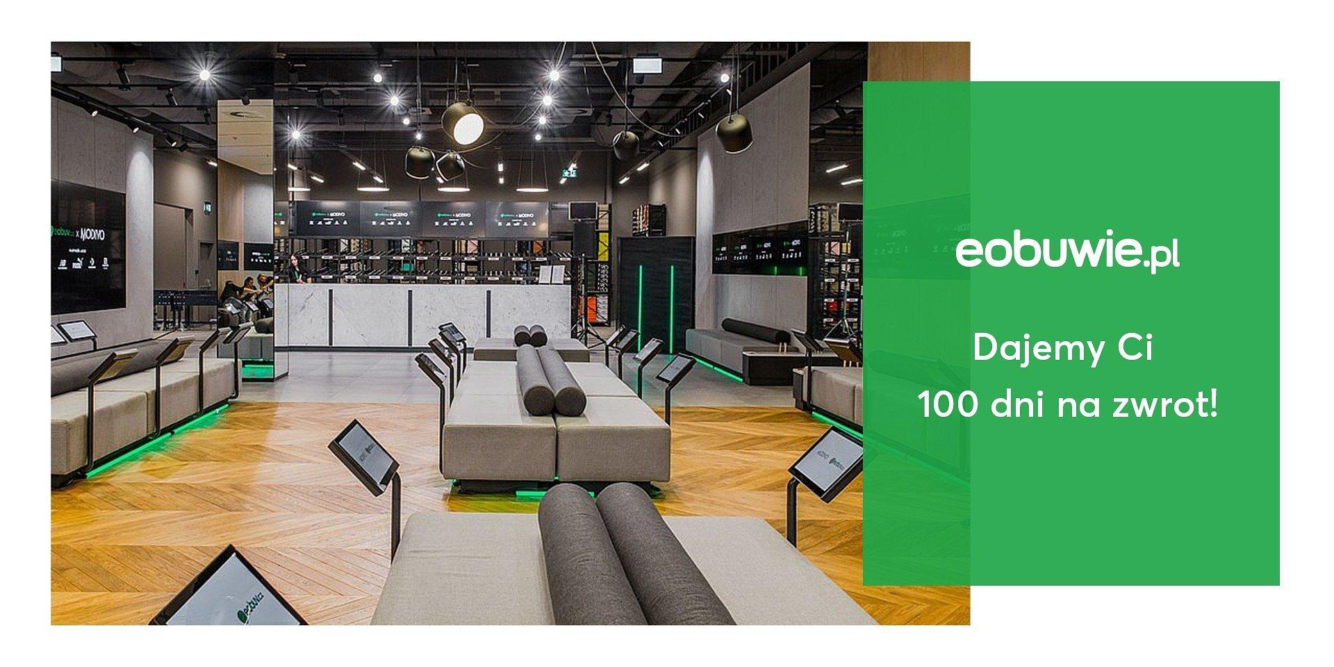 Eobuwie.pl: 100 dni na darmowy zwrot dla klientów