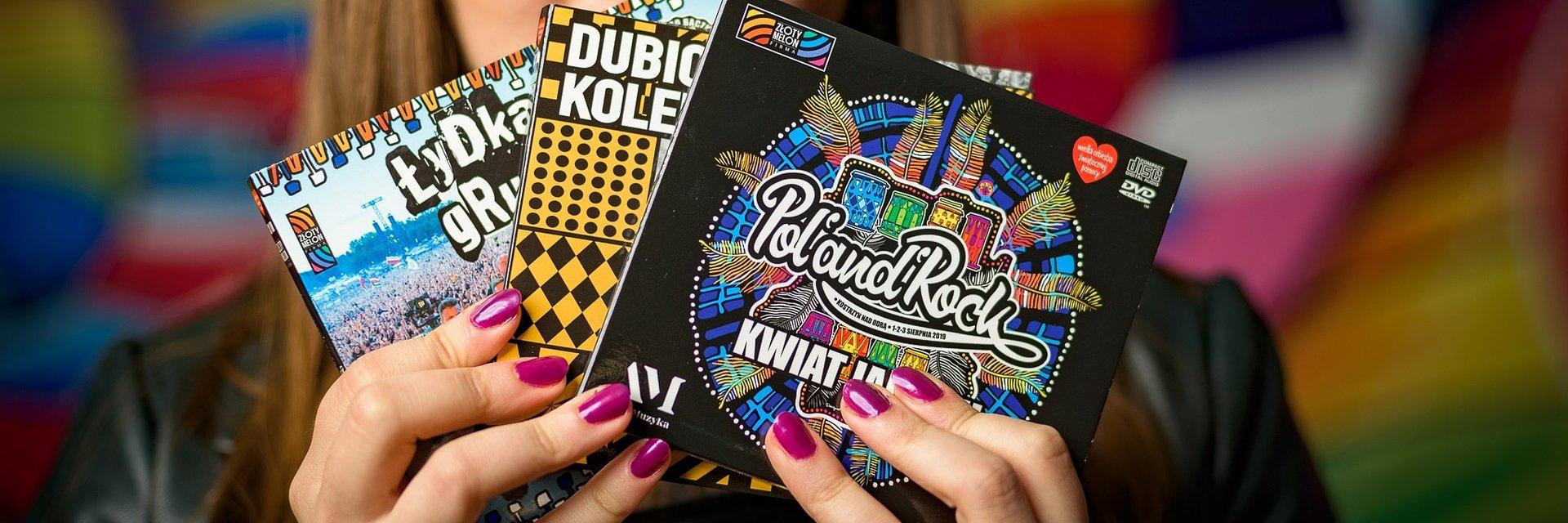 """Złoty Melon największym wydawcą płyt DVD z polską muzyką rockową w wersji """"live"""""""