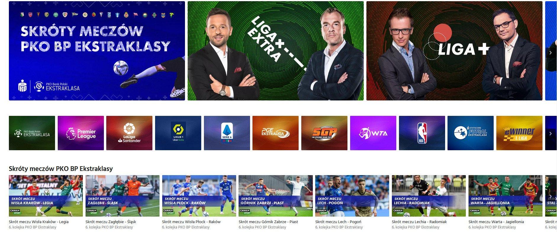 Mecze Ligi Mistrzów UEFA i najlepszy sport na żywo w jednym miejscu dzięki nowej ofercie serwisu CANAL+ online