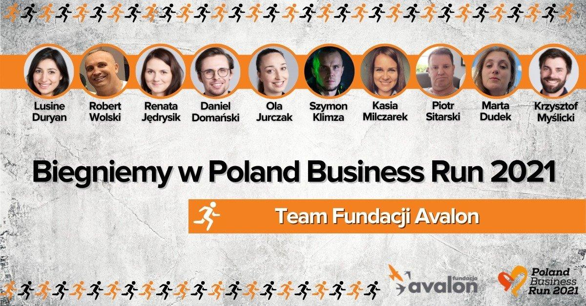 Fundacja Avalon dołączyła do Poland Business Run 2021
