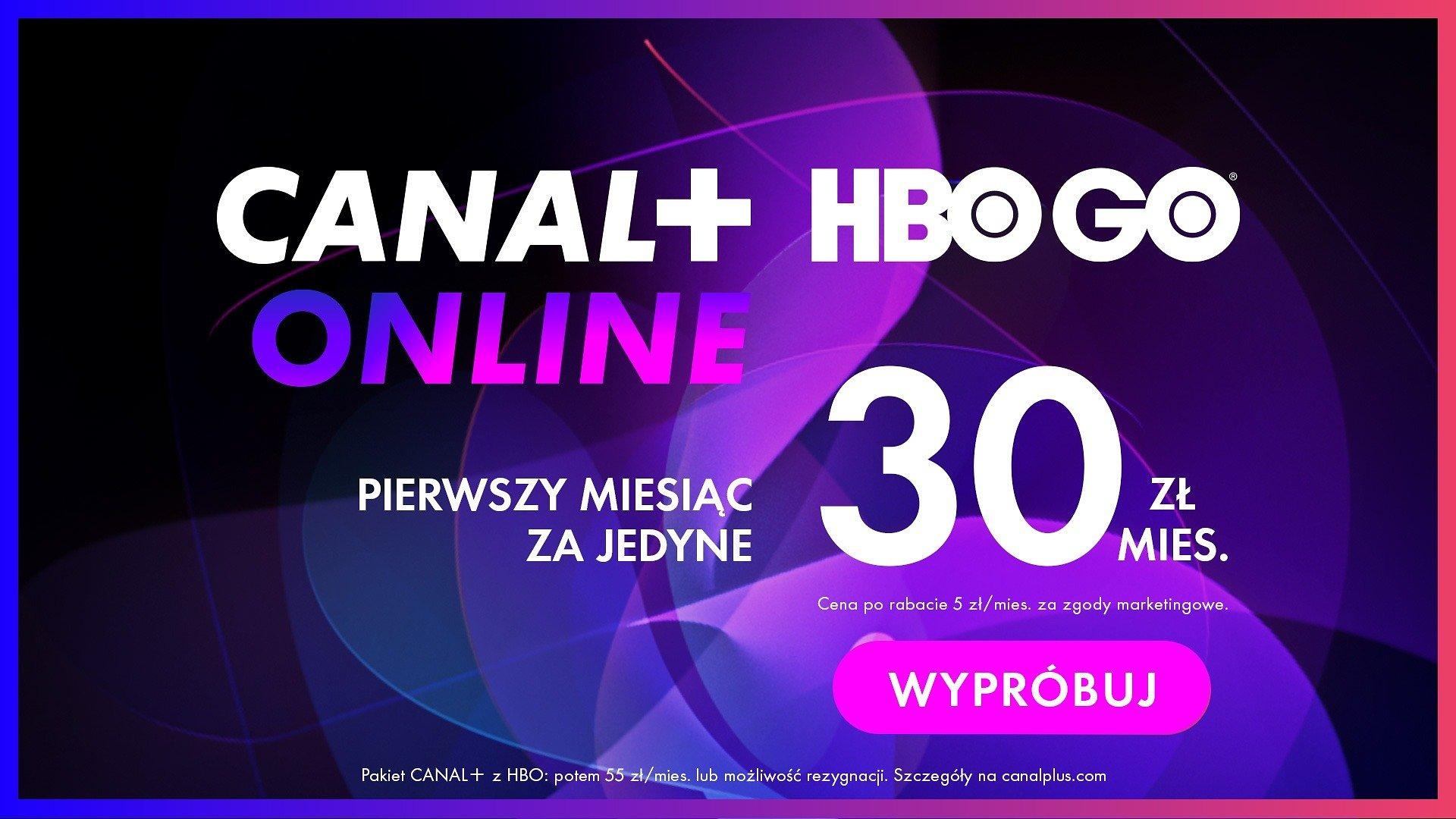 CANAL+ online i HBO GO w połączonej ofercie.