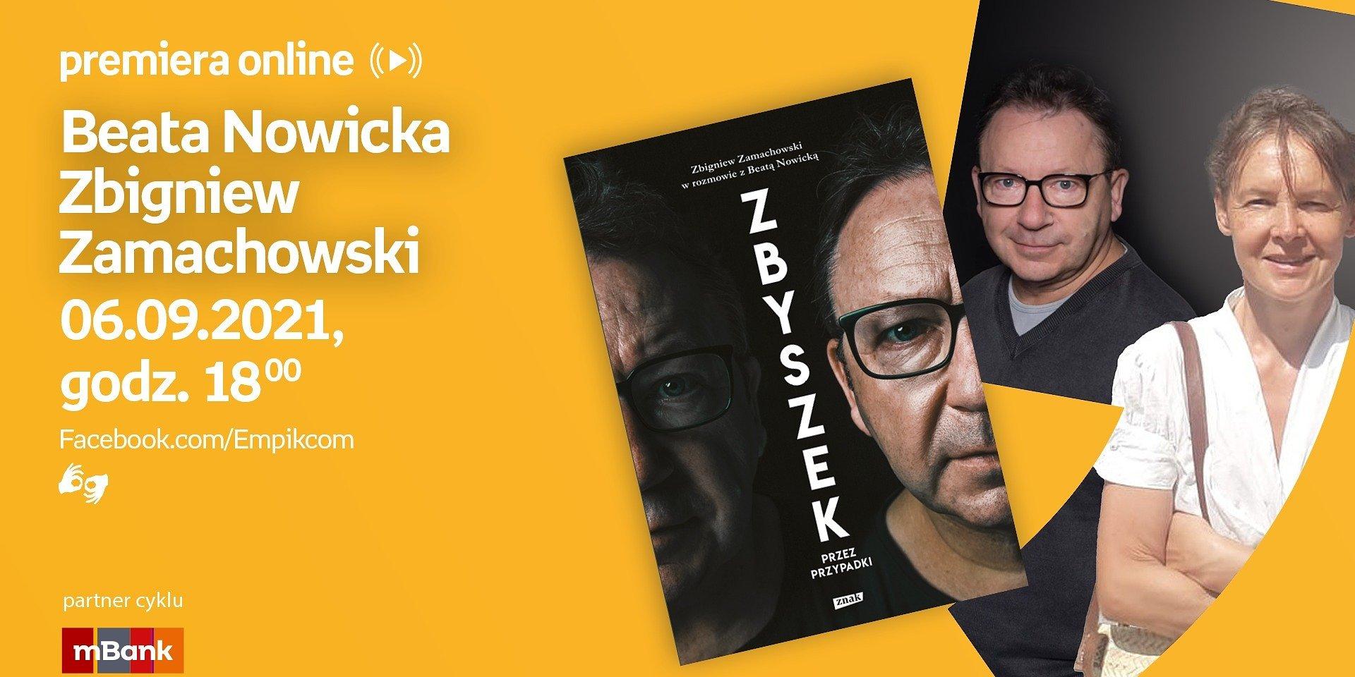 Zbigniew Zamachowski, Beata Nowicka oraz Małach bohaterami wrześniowych spotkań z cyklu Premiera online