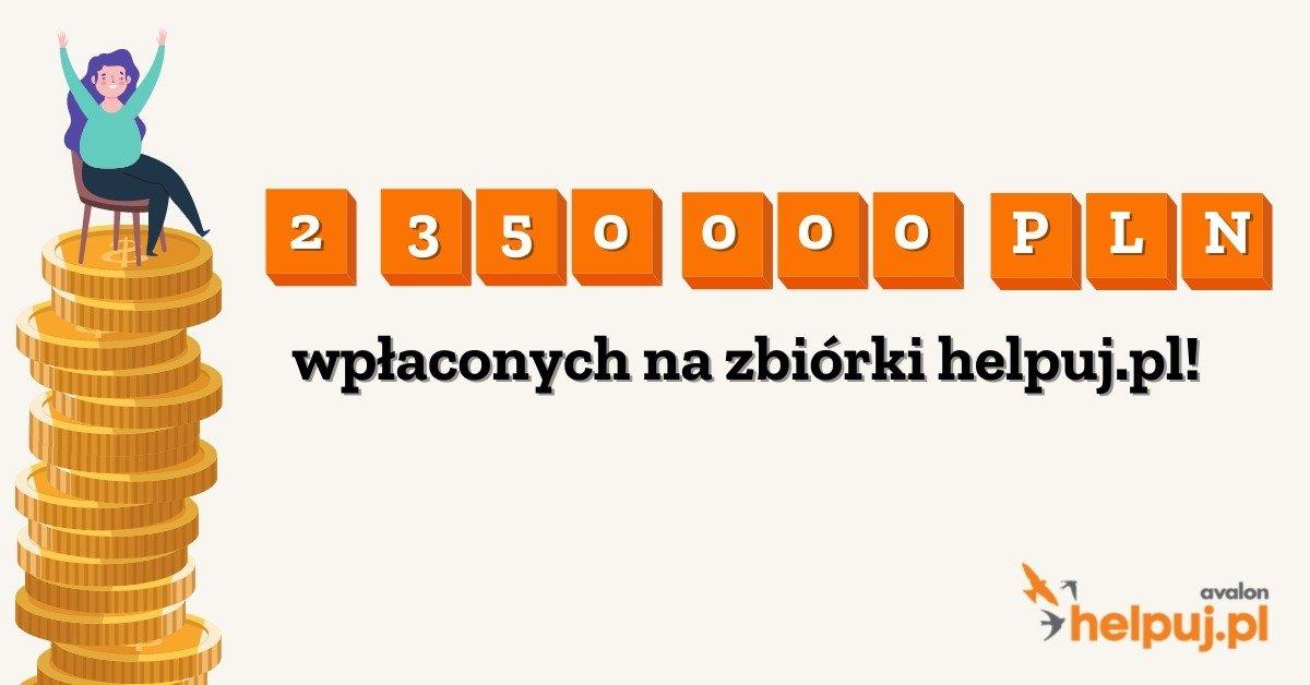 Boom na internetowe zbiórki trwa. Portal Helpuj.pl notuje ponad 2 miliony złotych wpłat od darczyńców, którymi głównie są kobiety!