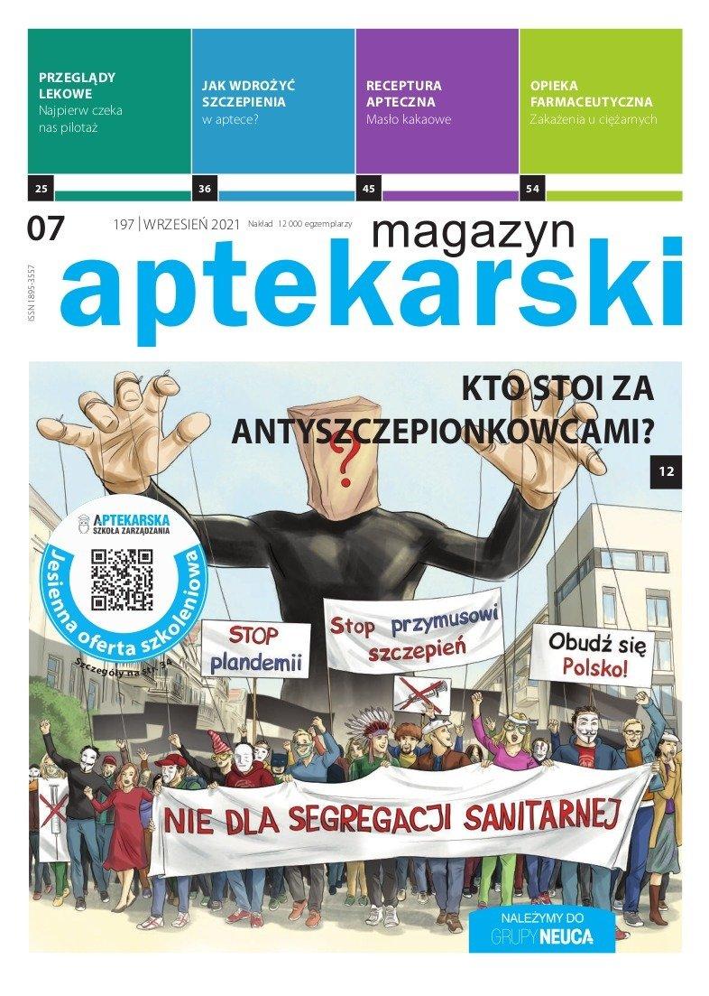 """""""Magazyn Aptekarski"""", wrzesień 2021"""