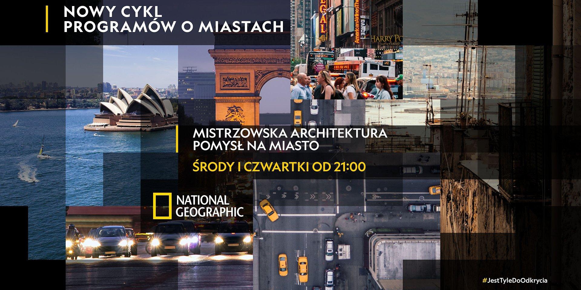 Miasta do odkrycia – rusza nowy cykl programów o miastach w National Geographic