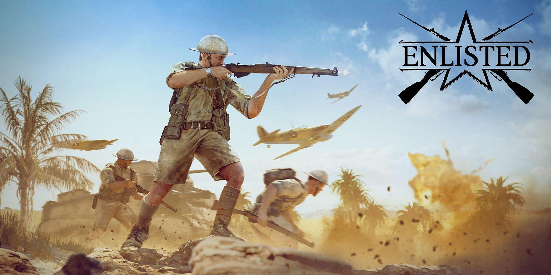 A Tunéziai csata, a zárt béta tesztelési kampány indul a Enlisted játékban