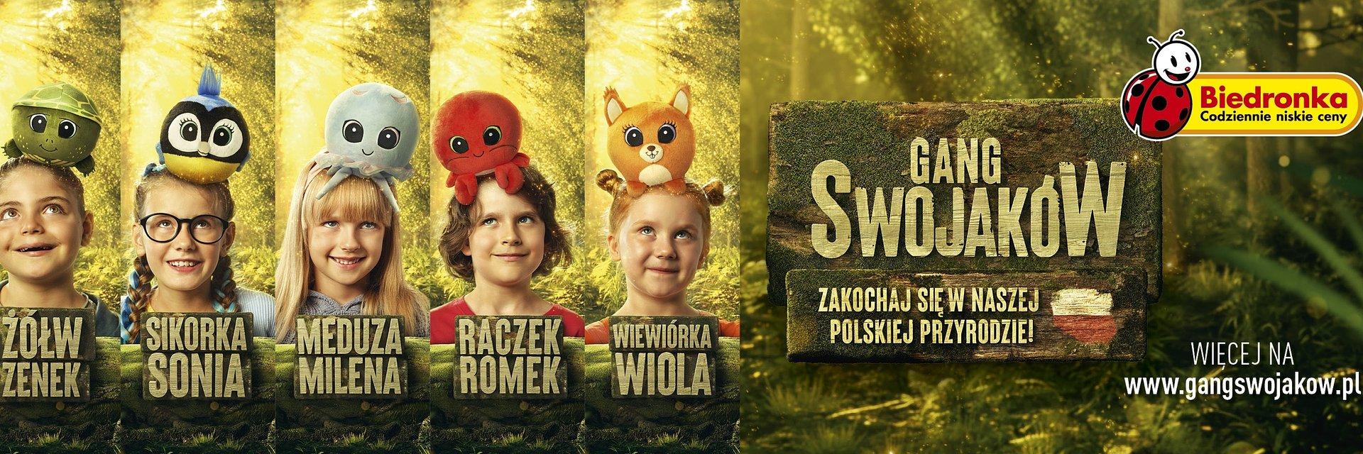 Biedronka wydała już ponad milion Swojaków. Pierwszy był Ryś