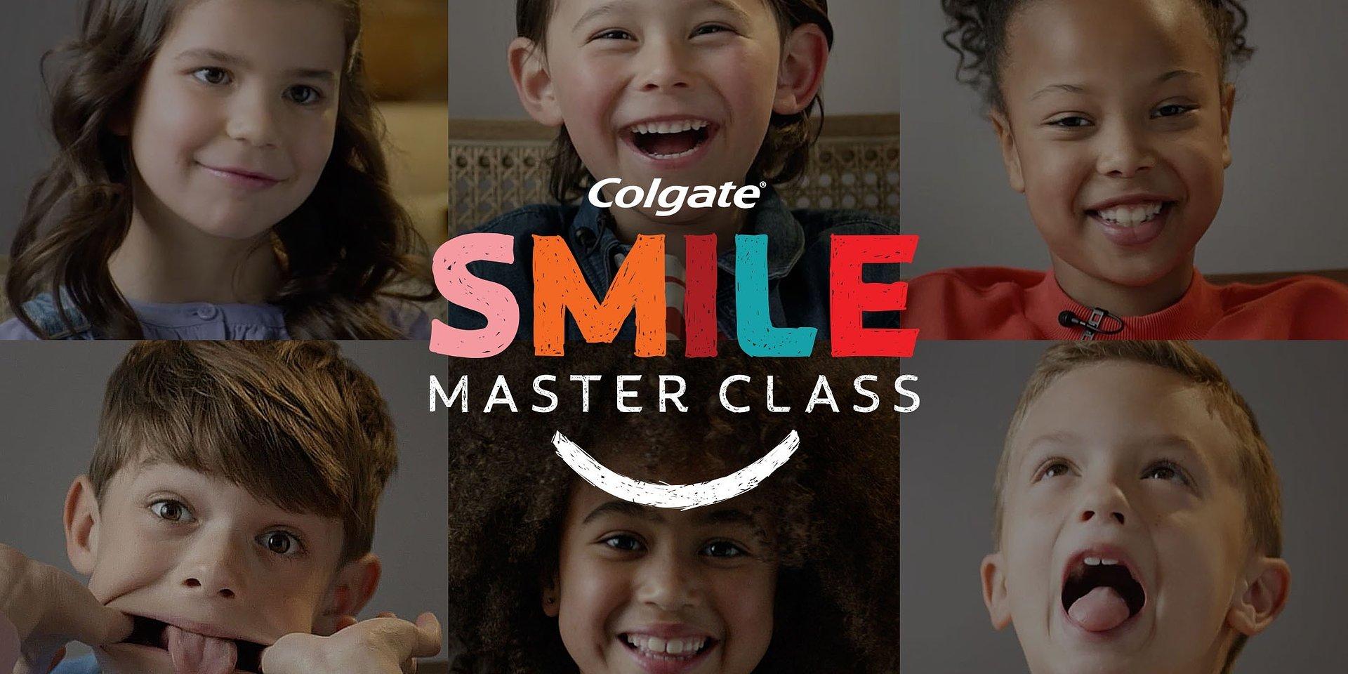 Colgate startuje z serią Smile Master Class