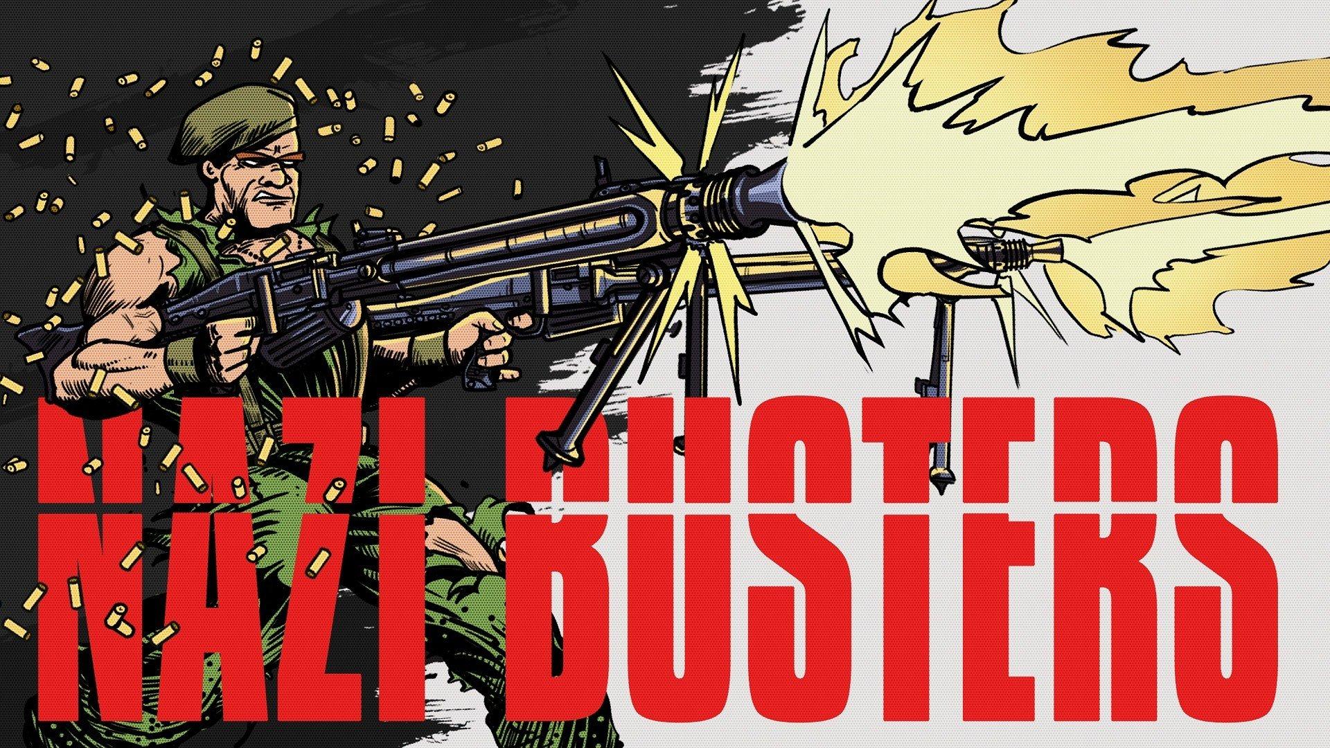 Połącz klimat Wolfensteina z humorem a la Duke Nukem, a otrzymasz… Nazi Busters!