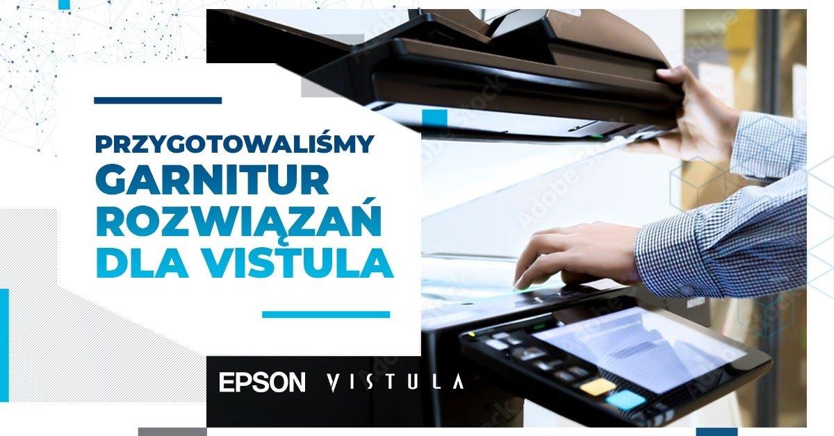 Vistula drukuje na Epsonie