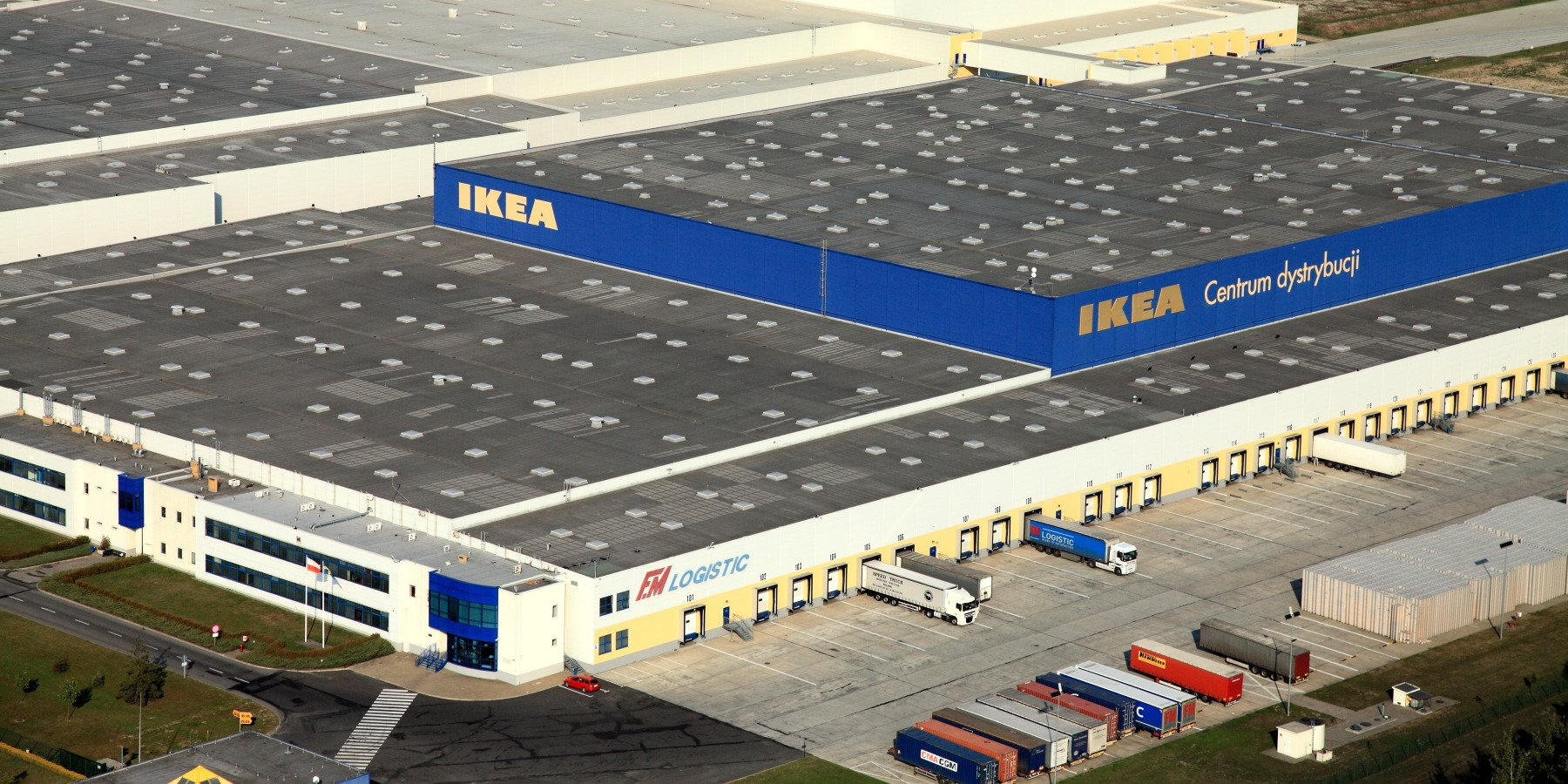 Centrum Dystrybucji IKEA ma już 20 lat