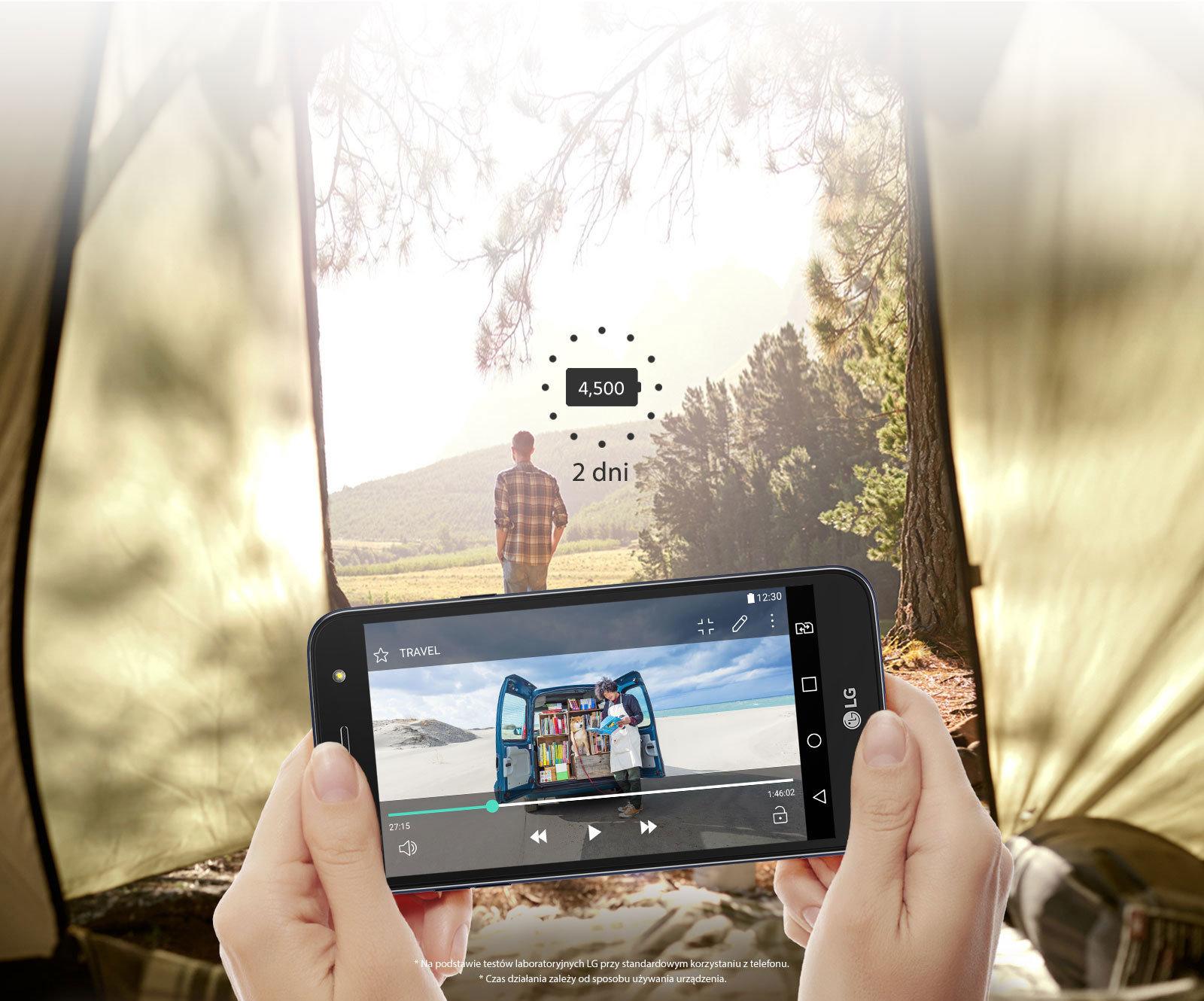 Smartfon z jedną z najbardziej wydajnych baterii na świecie już od dziś w Polsce –  premiera LG X power2