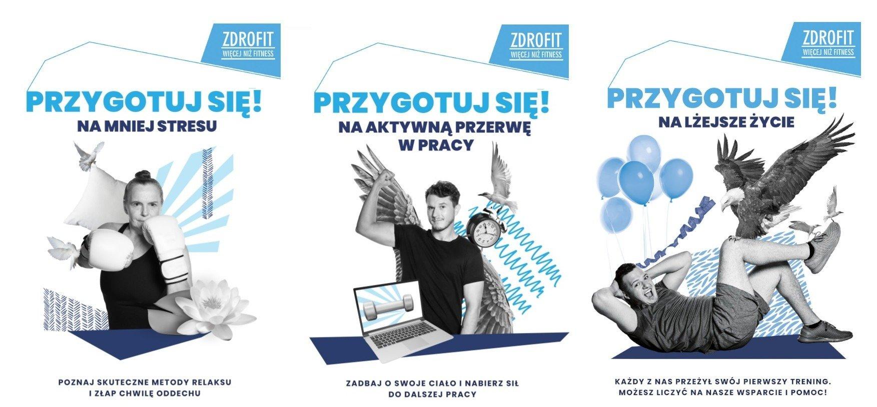 Przygotuj się! Do codziennej aktywności fizycznej zachęca ogólnopolska kampania siedmiu sieci fitness