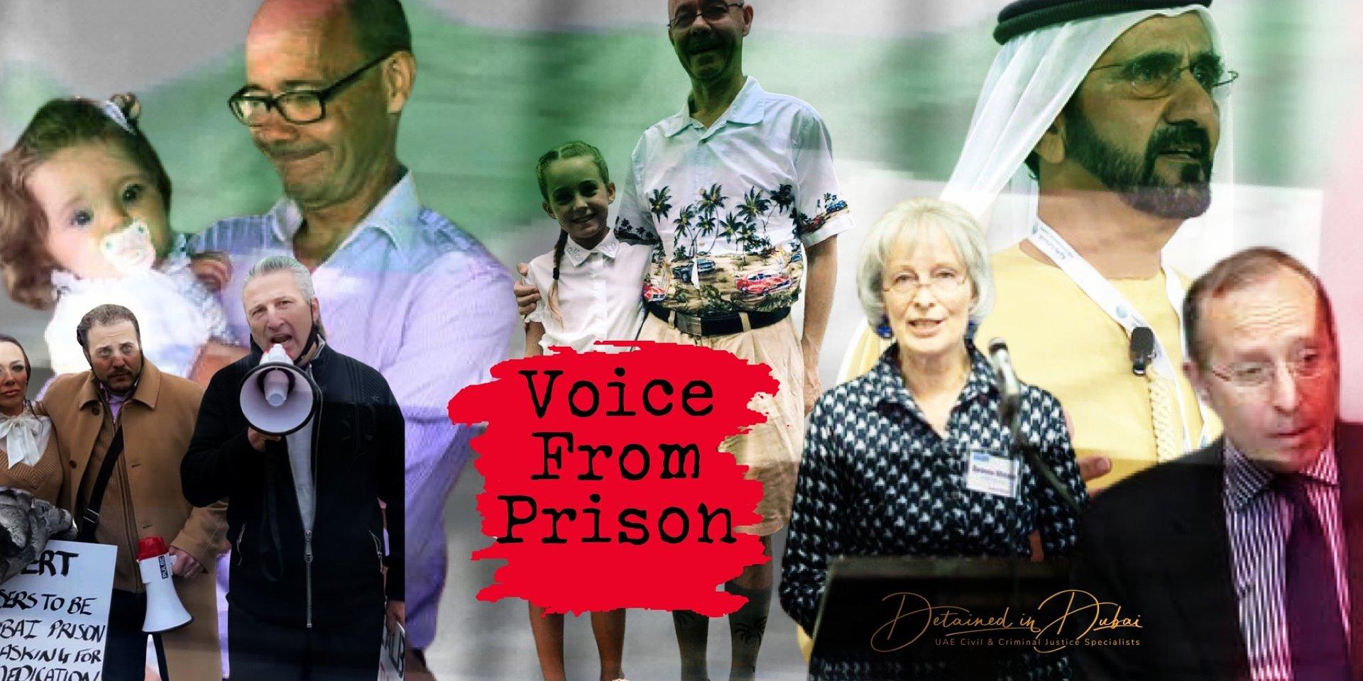 Distressing Dubai Prison Plea - Voice Recording