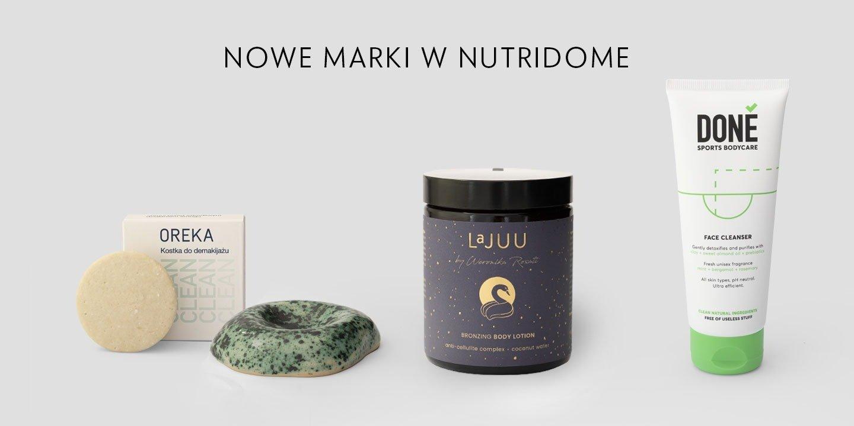 Kosmetyki nowych kategorii w Nutridome