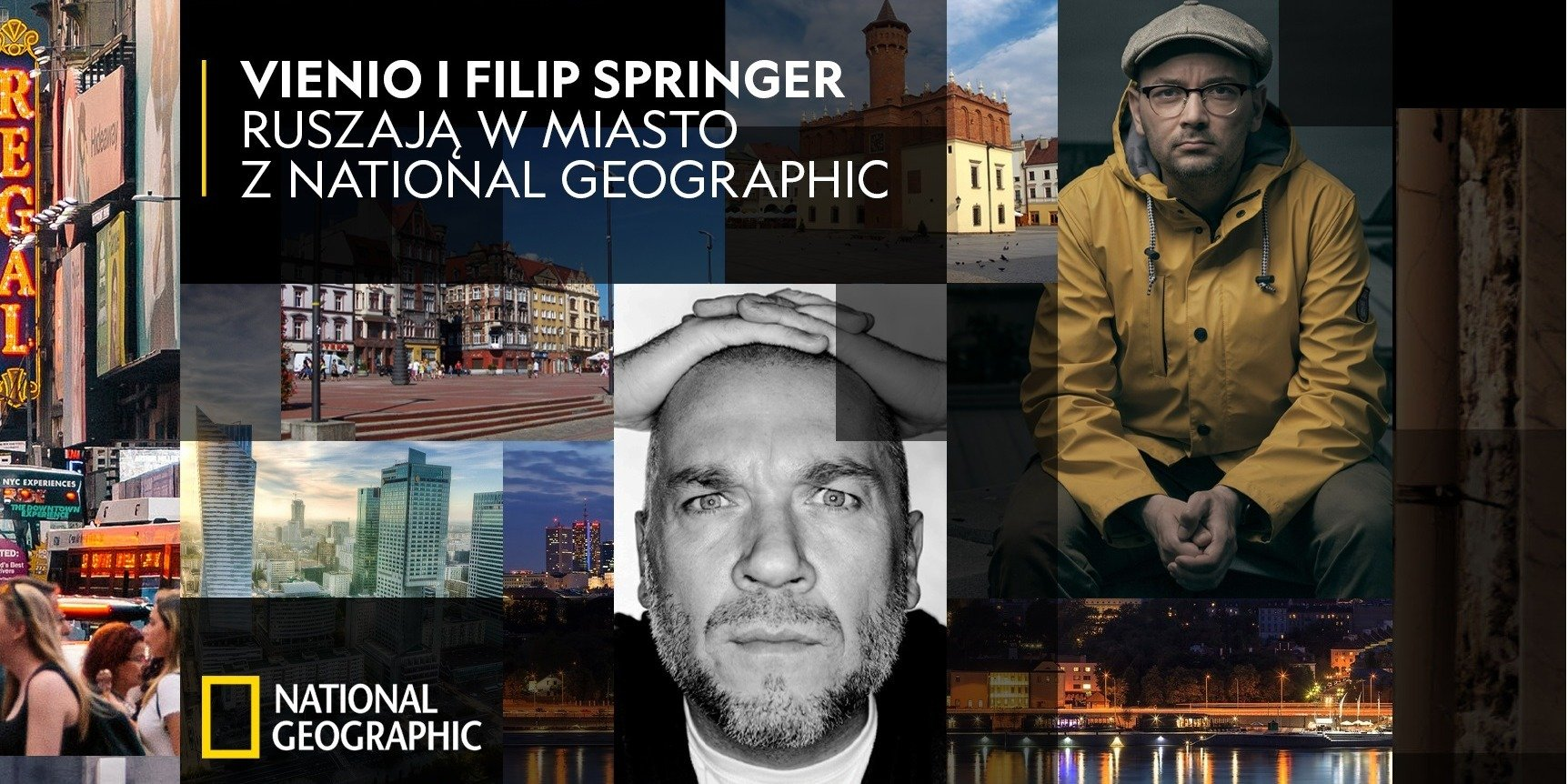 Vienio i Filip Springer ruszają w miasto z National Geographic #jesttyledoodkrycia