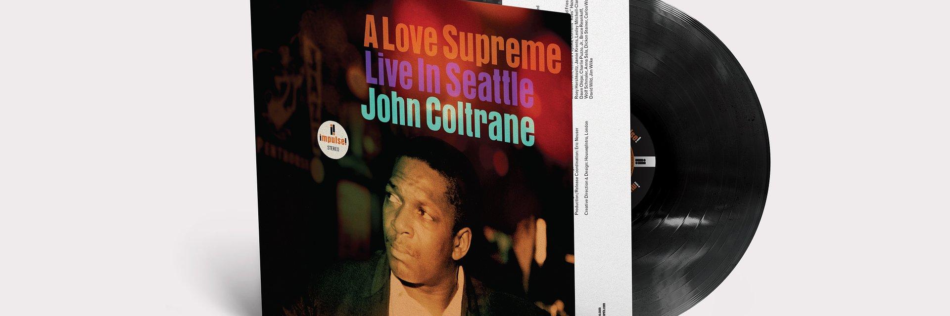 """John Coltrane """"A Love Supreme: Live in Seattle"""". Premiera 22 października."""