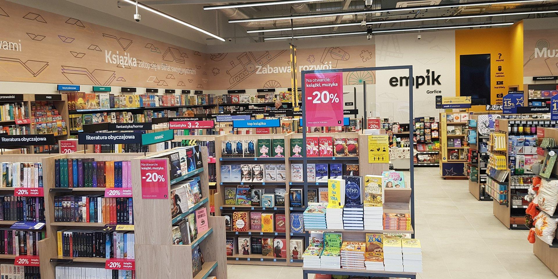 Pierwszy salon Empik w Gorlicach otwarty