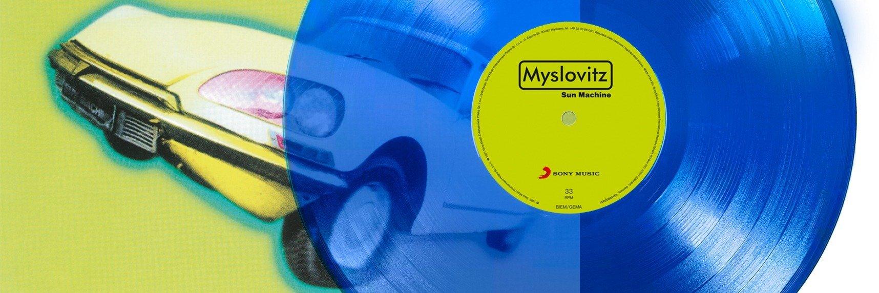 """Kolekcjonerska edycja albumu Myslovitz – """"Sun Machine"""" na niebieskim winylu!"""