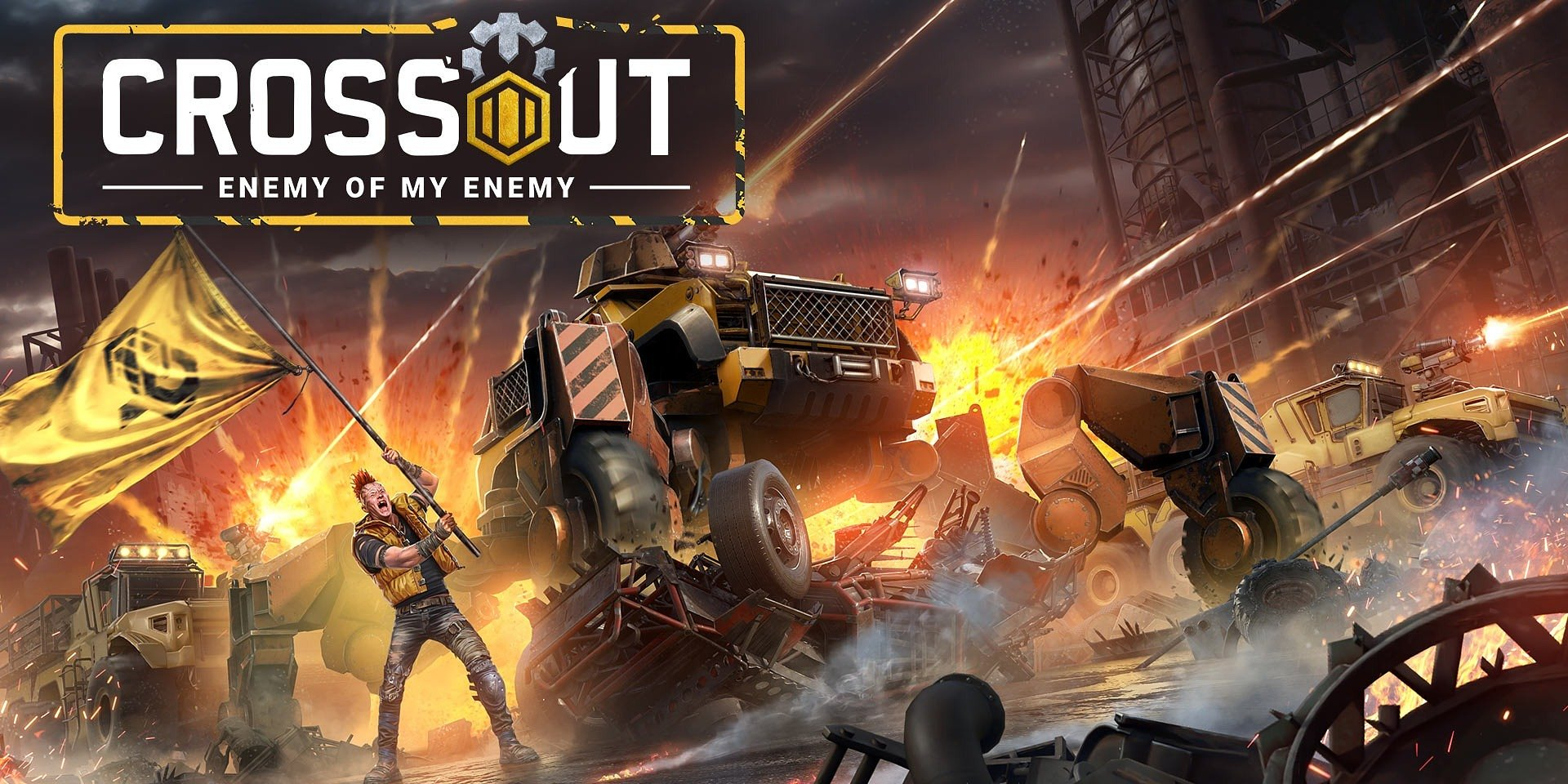 Lasers and nails will dominate the battlefield in the new epic Crossout story mission