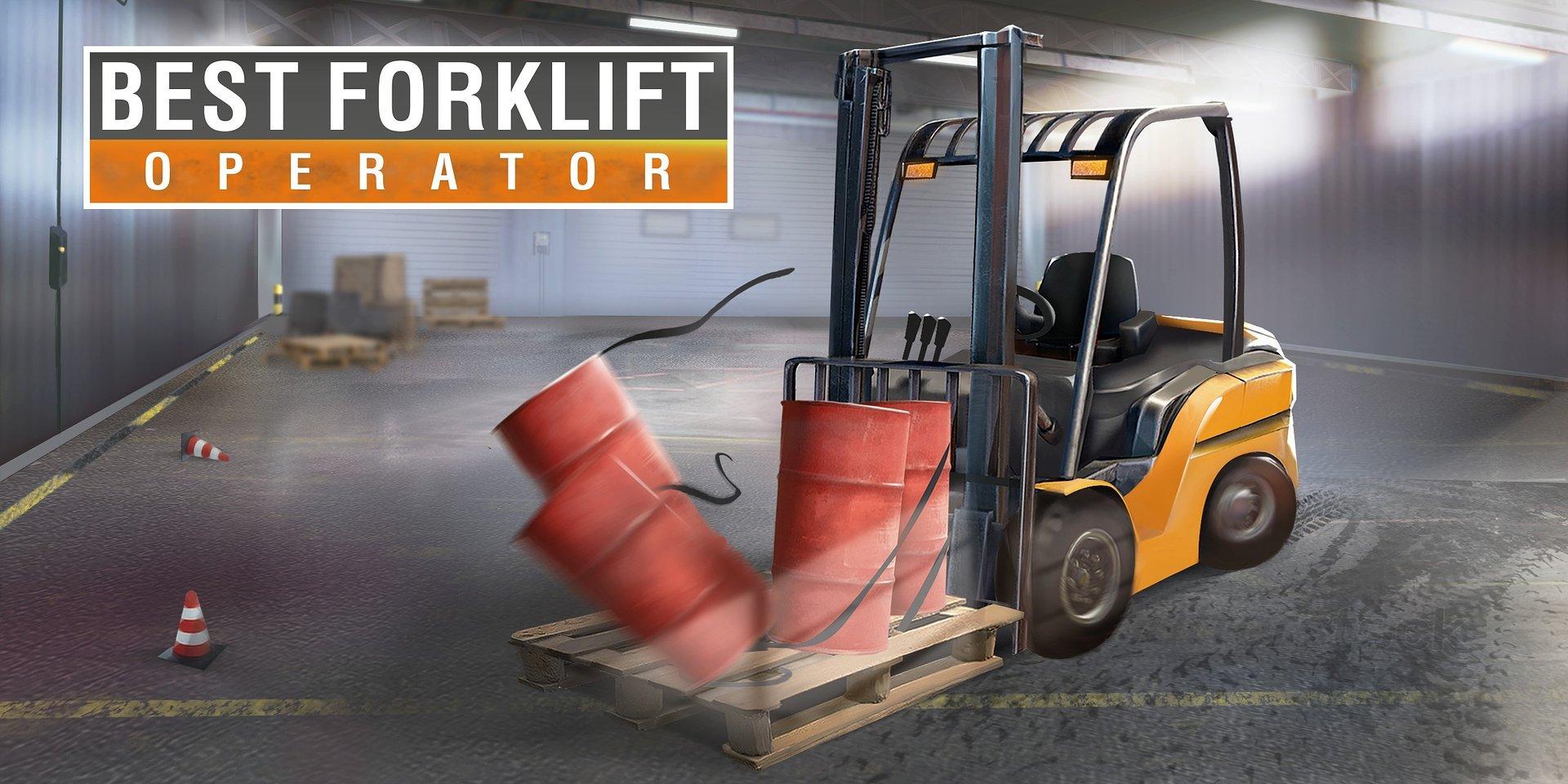 Zostań mistrzem wózków widłowych – Best Forklift Operator szykuje się do pracy!