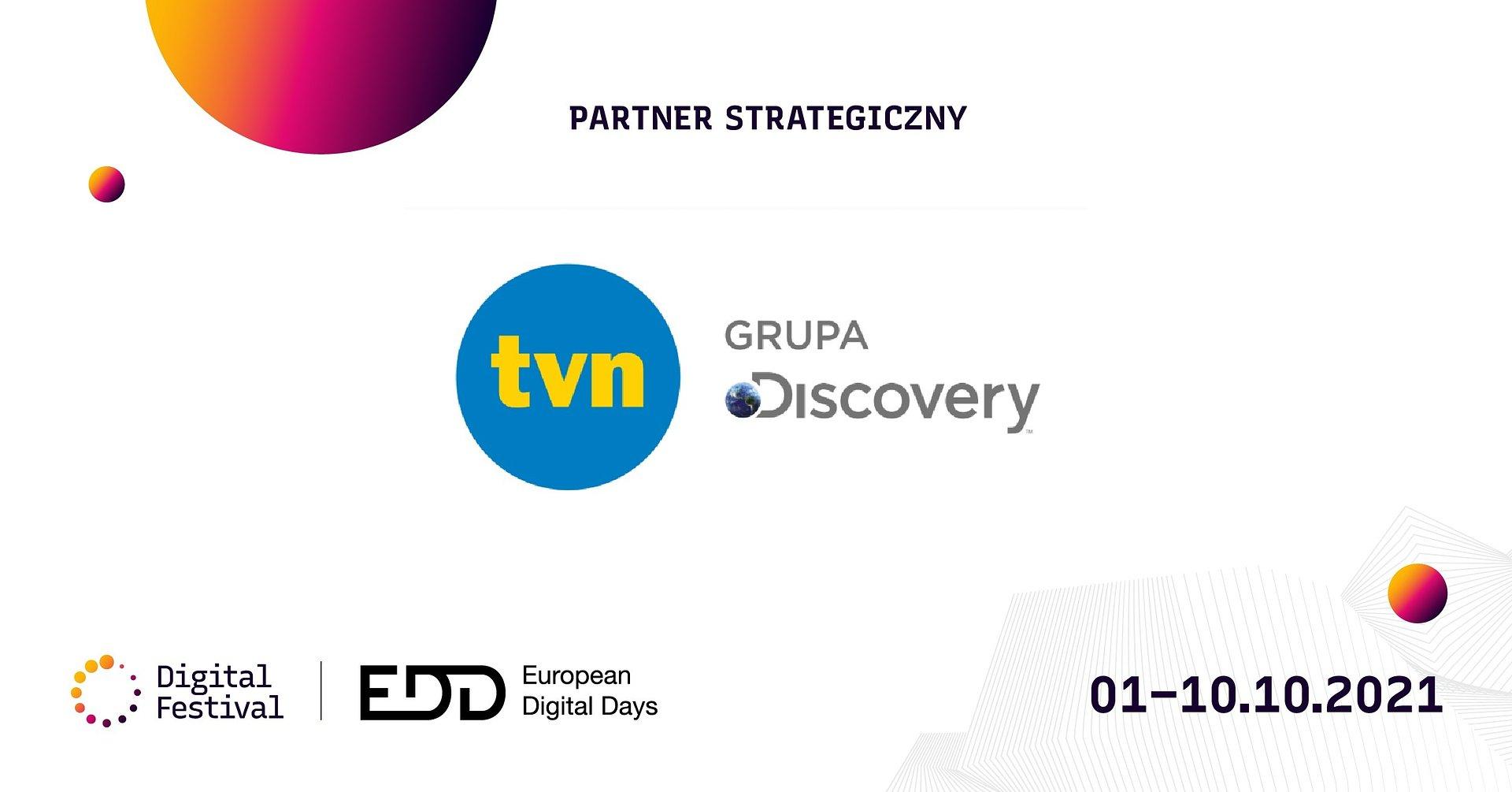 TVN Grupa Discovery zaprasza na 3. edycję Digital Festival
