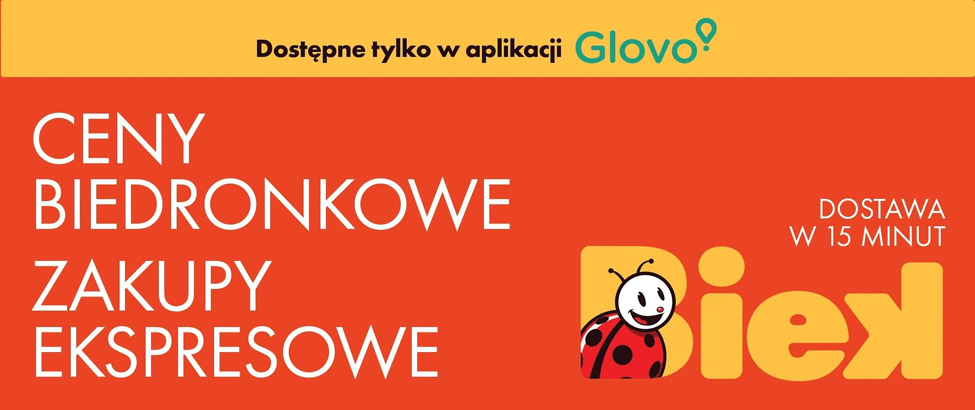 BIEK: Biedronka i Glovo uruchamiają pionierską usługę ultraszybkiej dostawy w Polsce