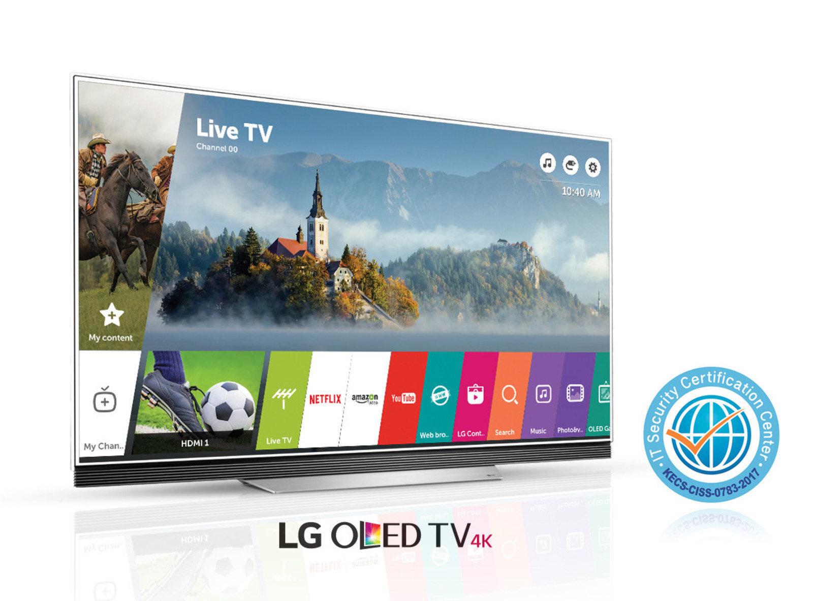 System LG webOS 3.5 nagrodzony certyfikatem bezpieczeństwa