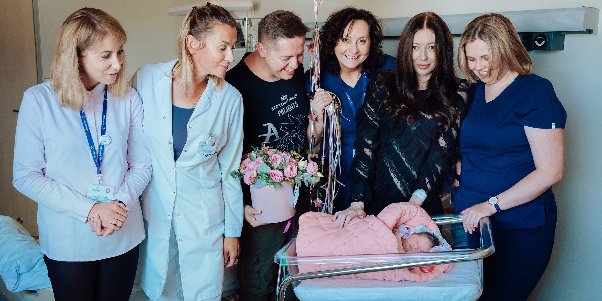 10-tysięczny noworodek powitany w Szpitalu Medicover