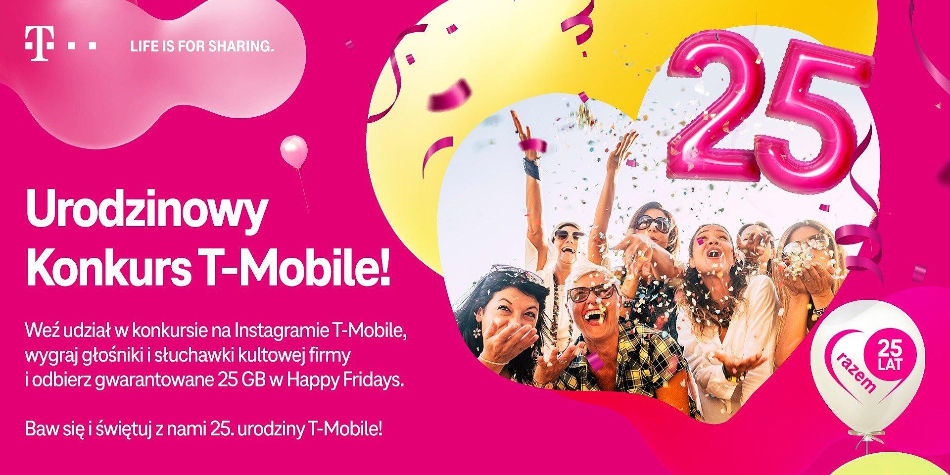 T-Mobile ożywia wspomnienia w urodzinowym konkursie