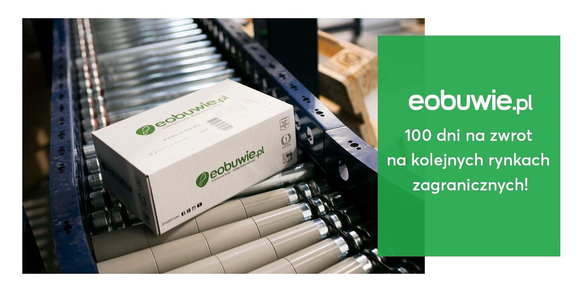 Eobuwie.pl wprowadza 100 dni na darmowy zwrot na kolejnych europejskich rynkach