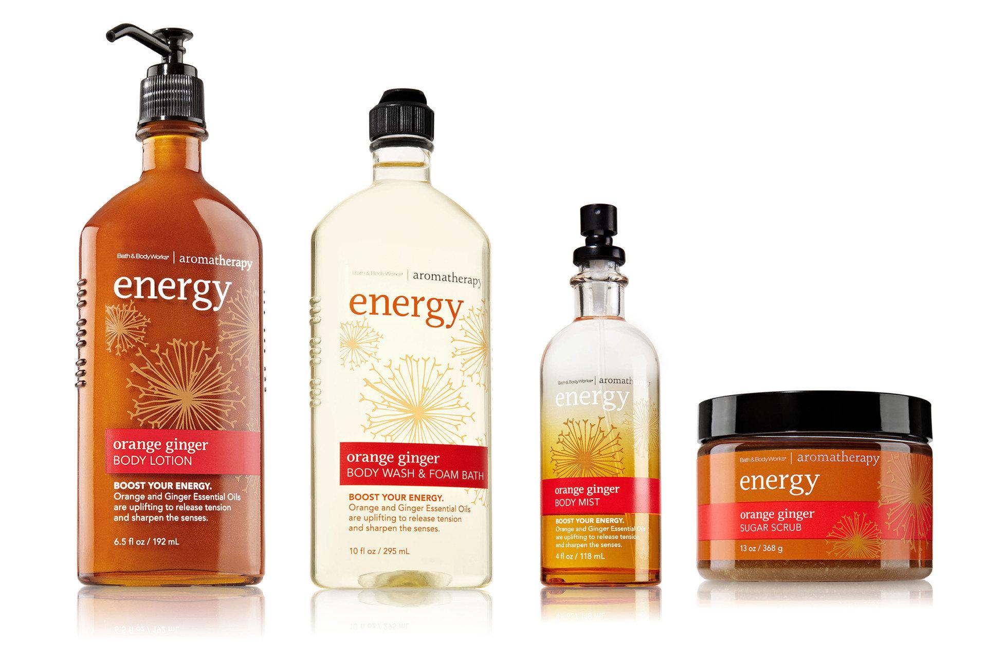 ZASTRZYK POZYTYWNEJ ENERGII –  KOLEKCJA ENERGY OD BATH&BODY WORKS