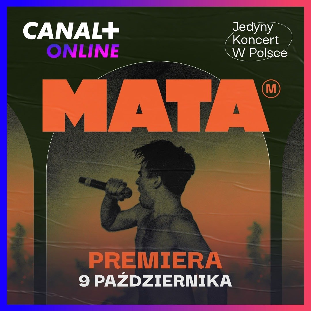Za nami największy solowy koncert w historii polskiego hiphopu i zdecydowanie najważniejsze wydarzenie muzyczne roku – Mata zagrał na warszawskim Lotnisku Bemowo, a już 9 października zobaczycie to w CANAL+ online!