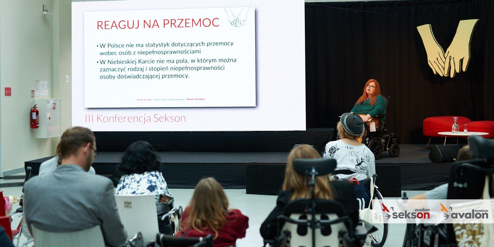Wyjątkowa frekwencja podczas III Konferencji Sekson - o seksualności i rodzicielstwie osób z niepełnosprawnością ruchową.