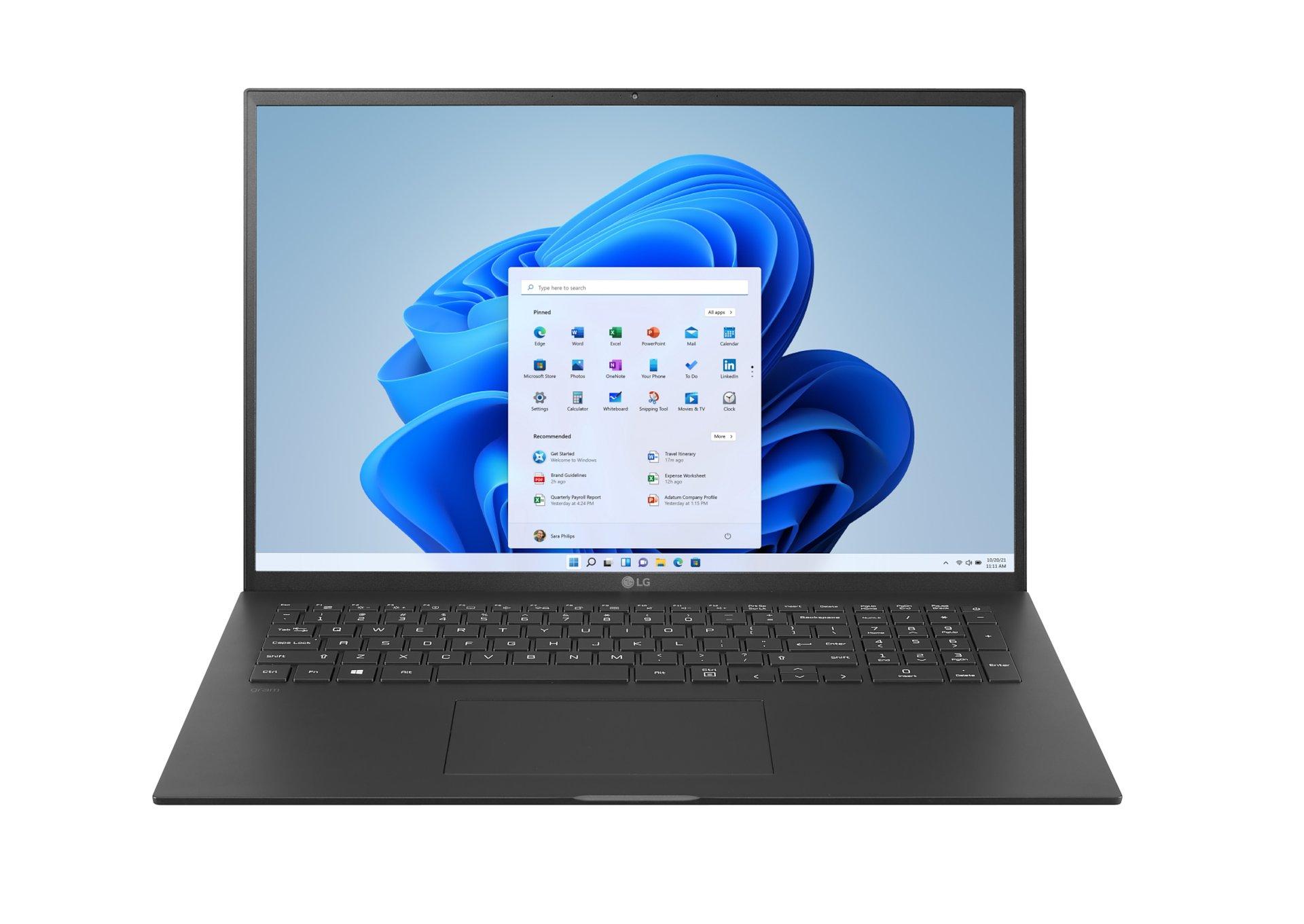 Ultrabooki LG gram teraz z systemem Windows 11