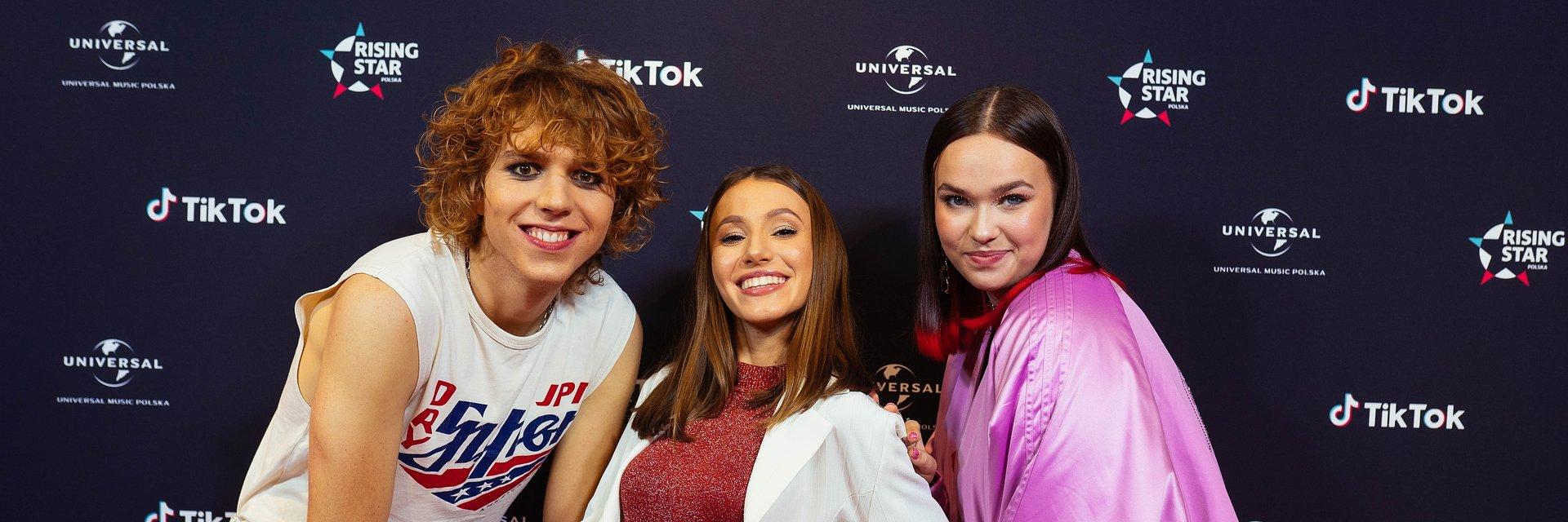 Rising Star Polska: posłuchaj singli finałowej trójki