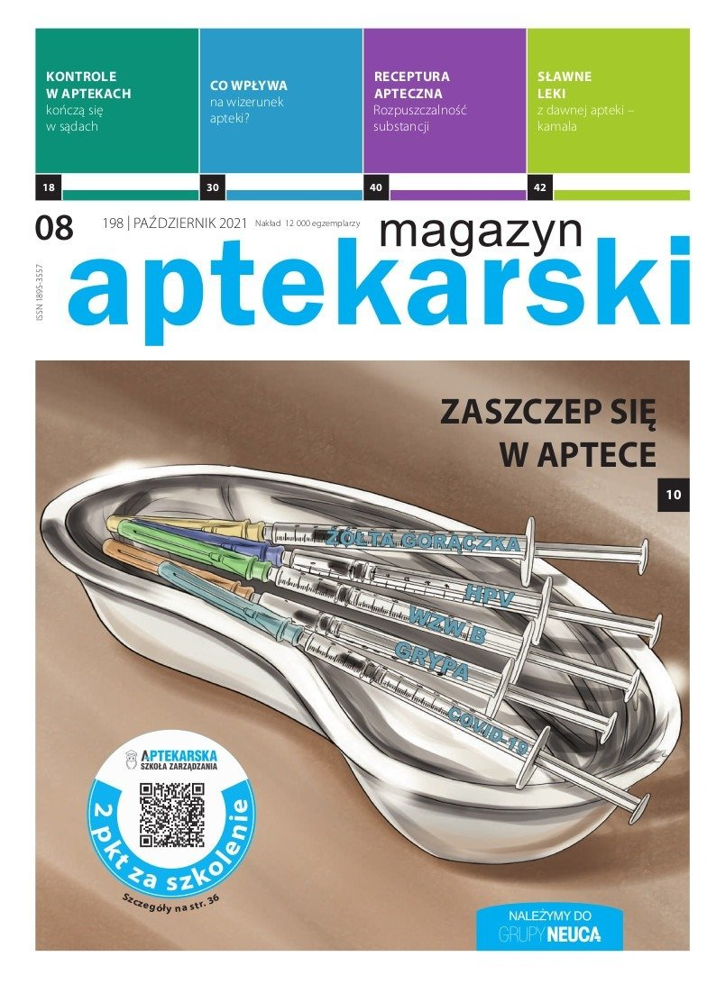 """""""Magazyn Aptekarski"""", październik 2021"""